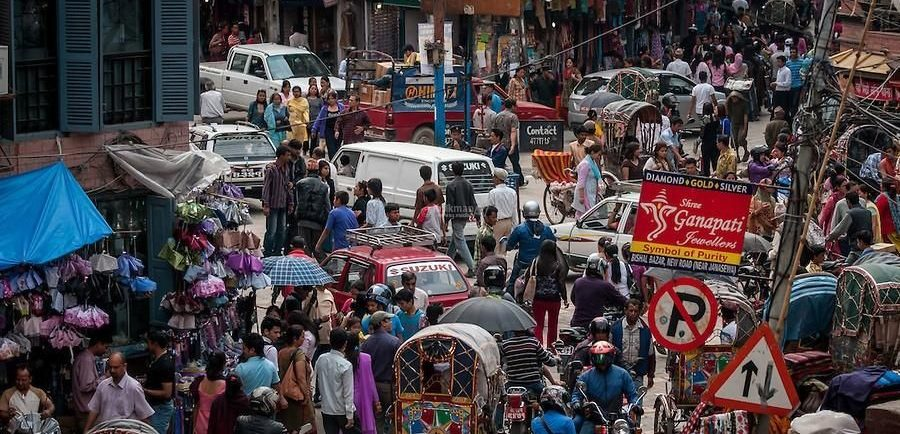 Трафик в Азии