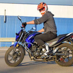 Права категории А. Обучение вождению мотоцикла в Москве