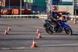 Разовое занятие на мотоцикле
