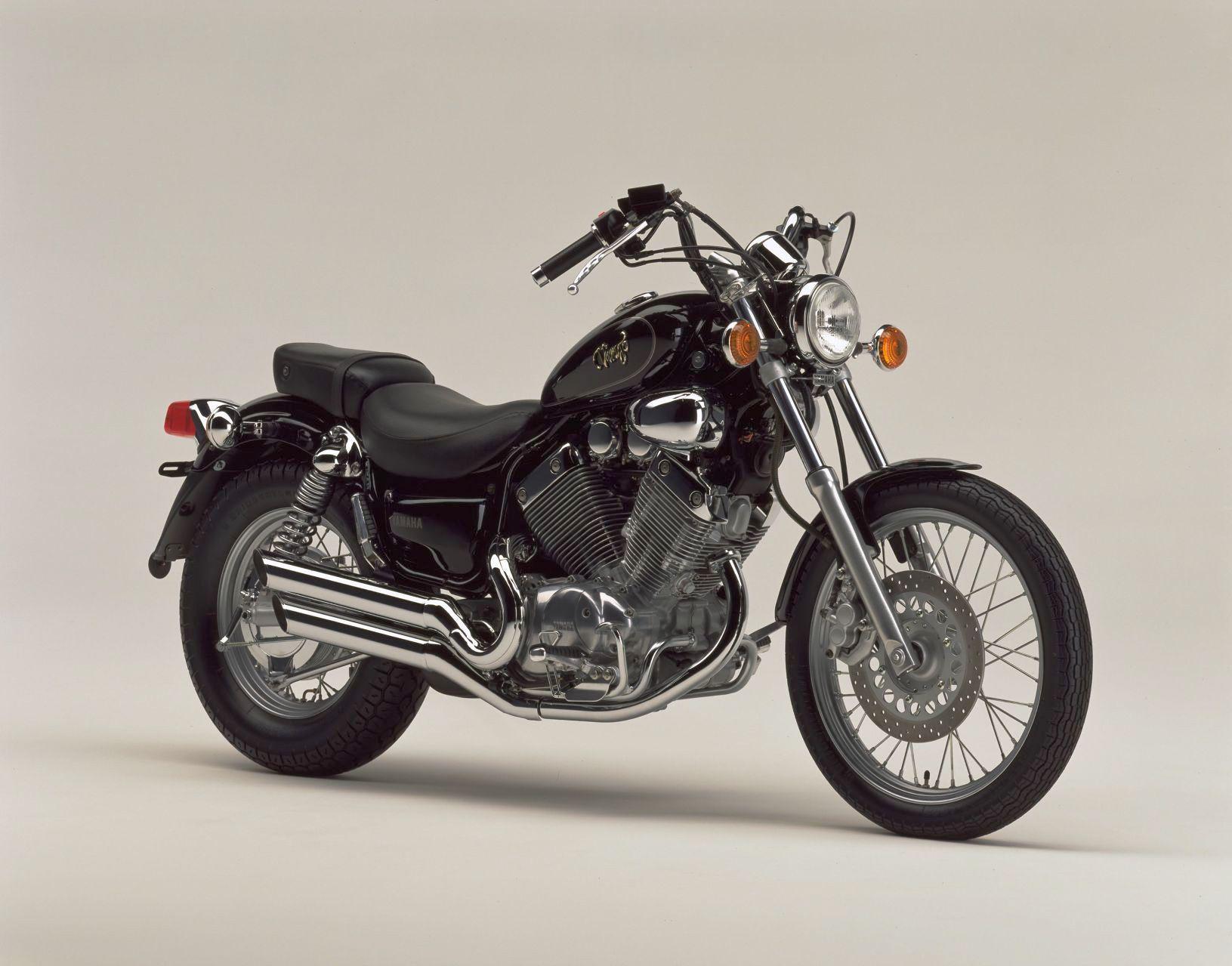 Обучение на Yamaha Virago XV535
