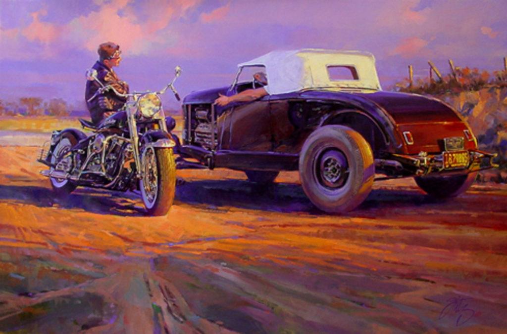 Мотоцикл или автомобиль?