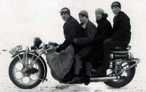 """Трехместный мотоцикл """"Чехия"""""""
